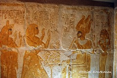 In front of Osiris and Nephthys (konde) Tags: mayaandmerit tomb 18thdynasty mayaandmeryt newkingdom saqqara ancient osiris nepthys nephtys goddess relief art treasure tombrelief hieroglyphs