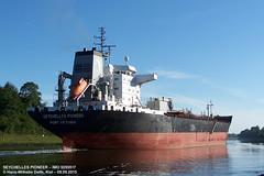 SEYCHELLES PIONEER (9255517) (013-09.09.2015) (HWDKI) Tags: seychellespioneer imo 9255517 schiff ship vessel hanswilhelmdelfs delfs kiel nordostseekanal kielcanal nok landwehr tanker tankschiff mmsi 664288000 lindenau