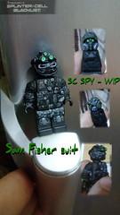 Splinter Cell blacklist. Sam fisher (artfiks15) Tags: lego custom splintercell sam fisher spy merc artfiks