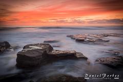 DSC_0002-1 (forbesy10) Tags: sea seascape waves tide sunrise clouds coast seatonsluice rocks northumberland