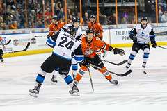 "Missouri Mavericks vs. Wichita Thunder, March 25, 2017, Silverstein Eye Centers Arena, Independence, Missouri.  Photo: © John Howe / Howe Creative Photography, all rights reserved 2017. • <a style=""font-size:0.8em;"" href=""http://www.flickr.com/photos/134016632@N02/32858159174/"" target=""_blank"">View on Flickr</a>"
