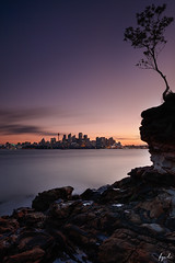 Sydney at sunset (FPL_2015) Tags: cremorne lookout sydney nsw australia landscape sunset ocean water bay harbor seascape canon1635f4lis canon5dsr nd18 gnd09