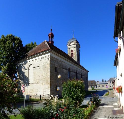 Kněžmost - Kostel sv. Františka Serafinského (Fürstenbruck - Kirche des Hl. Franz von Assisi)