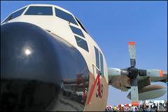 Lockheed C-130E Hercules (Pavel Vanka) Tags: israel air force israelairforce iaf lockheed c130e hercules c130 ciaf czechinternationalairfest czech czechrepublic airplane plane aircraft airshow spotting spot spotter brno brnoturany lktb cargo cargoplane military militaryplane turboprop propeller