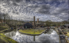 Black Country Landscape (Darwinsgift) Tags: black country living museum nikkor pce 24mm f35 nikon d810 landscape industrial past history hdr photomatix tripod winter