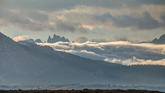 Fog Flowing by The Minarets (Jeffrey Sullivan) Tags: the minarets mammothlakes easternsierra california sierra nevada weather longvalley usa landscape nature canon 5dmarkiii road trip photo copyright 2012 october jeff sullivan united states