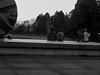 Two Pairs and a Helmet (prima seadiva) Tags: bw people reservoir volunteerpark blacksun blackandwhite balckwhite blackwhite