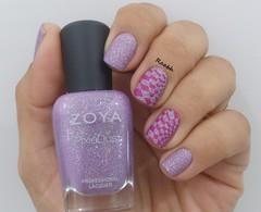 Stevie - Zoya (Raabh Aquino) Tags: unhas esmalte pixiedust lilás stevie