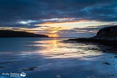 Loch Pooltiel, Isle of Skye (Andy Stables) Tags: sunset loch pooltiel feriniquarrie black beach glendale skye scotland canon 5d4 5d mark iv