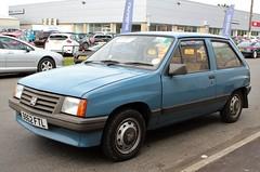 B862 FTL (Nivek.Old.Gold) Tags: 1985 vauxhall nova 12l 3door