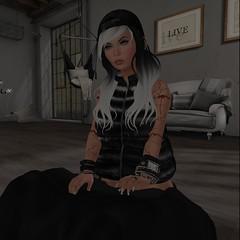 #269 (Kᴀʏᴀ Eʟᴇᴏɴᴀʀᴀ - Bʟᴏɢɢᴇʀ) Tags: blogger blogpost woman secondlife sl pose db balkanik arabic tattoos beusy ink hairstyle ghetto