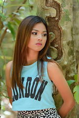 Judy Lou #2 (id-image) Tags: beauty filipina forest girl lady miss