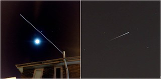 Last Nights ISS pass with overhead fade.
