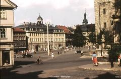 Eisenach - am Stadtschloss 1959 (Knipser@) Tags: eisenach 1959 hawe ddr thüringen