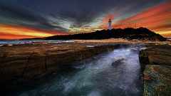 0S1A3882enthuse (Steve Daggar) Tags: lighthouse norahhead sunset seascape landscape gosford nswcentralcoast longexposure