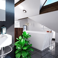 bathroom interior visualisation company manchester -LOFT_BATHROOM_SINK_ZDEPTH_2k (NorthMadeStudio) Tags: bathroom render visual visualisation visualisations mockup image pics photo realism realistic 3d interior bath tiling manchester cheadle alderleyedge liverpool uk company architectural interiordesign interiorvisualisation