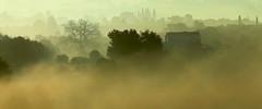 foggy morning (maria xenou) Tags: landscape morning morgennebel landschaft weather wetter greece mediterranean mittelmeer griechenland hellas moments momente photodromos fotodromos maria xenou ελλασ ελλαδα στιγμεσ πρωι ομιχλη τοπιο φωτοδρομοσ μαρια ξενου ανοιξη spring frühling natur nature fog mist trees bäume canoneos1100d light shadows silhouettes impressions houses häuser monochrome monochrom tones