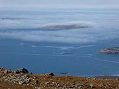 Haar over the Islands (Traigh Mhor) Tags: 2017 march hilwalk highland scotland graham coigach benmorecoigach