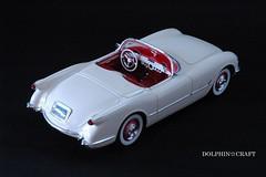 1953 Corvette 2 (DOLPHIN☆CRAFT) Tags: 1953 chevrolet corvette monogram シボレー コルベット モノグラム プラモデル