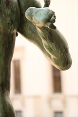La jambe droite de Mercure en course (.urbanman.) Tags: bronze mercure sculpture jambe nue nu naked messager shirtless rome medicis
