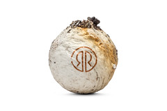 Scorched (Bill Hornstein) Tags: robinsonranchgolf ball burned charred fire golf golfball hot melt scorched