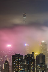 Hong Kong (TaiNg0415) Tags: hk hongkong 香港 建築 夜景 雲霧 nikon 城市