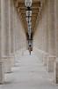 Passage (Maïa Hesse) Tags: perspective colonnes passage femme silhouette point de fuite palais royal louvre tuileries paris france woman luminaire pierre centre