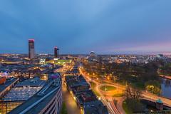 Leeuwarden Skyline at blue hour