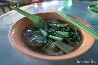 Wan ton soup