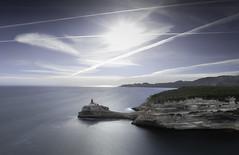 Boni(phare)cio (Corsica) (Mathulak) Tags: pharedelamadonetta madonetta bonifacio bunifaziu corsica corse lighthouse phare seascape mountains d750