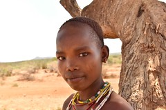 Hamar Girl (Rod Waddington) Tags: africa african afrika afrique äthiopien ethiopia ethiopian ethnic etiopia ethnicity ethiopie etiopian omo omovalley outdoor portrait people girl hamer hamar tribe traditional tribal culture cultural