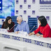 Шарль Азнавур пресс-конференция ТАСС (45)