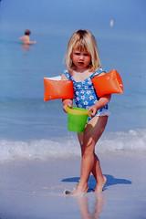 waterwings (joni205) Tags: swimming littlegirl beachscene