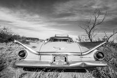 Simple Man (Thomas Hawk) Tags: america buick newmexico route66 usa unitedstates unitedstatesofamerica abandoned auto automobile bw car junkyard fav10 fav25 fav50 fav100