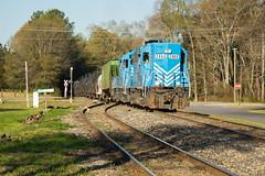 4.7% (ajketh) Tags: lc lancaster chester freight local shortline springmaid line go gulf ohio 47 steepest grade america emd gp38ac 2866 16 richburg sc south carolina