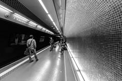 Naples, subway - Napoli, metropolitana (58lilu58) Tags: naples napoli subway metropolitana stazione station canon blackandwhite biancoenero canon760d