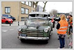 Chevrolet 3100 Pickup / 1949 (Ruud Onos) Tags: chevrolet 3100 pickup 1949 chevrolet3100pickup1949 ar4442 saturdaynightcruiseapril