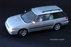 SUBARU LEGACY 1 (DOLPHIN☆CRAFT) Tags: subaru legacy wagon turbo gt スバル レガシィ ワゴン gt ターボ プラモデル