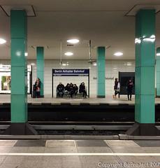 anhalterbahnhof (Rob Bonhof) Tags: iphone berlin ubahn underground sbahn urban rail