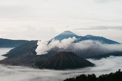 Bromo (joskevink) Tags: bromo vulcano view dreamy nature earth wind windy cloud clouds olympus java indonesia mountain mountains climb asia island