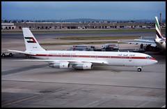 A6-HPZ - London Heathrow (LHR) 25.07.1993 (Jakob_DK) Tags: 1993 lhr egll heathrow londonheathrow london dub uaegovernment unitedarabemirates unitedarabemiratesgovernment boeing boeing707 707 b707 707300 707300b