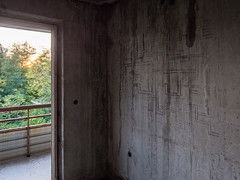 "20161013-0247 (www.cjo.info) Tags: bulgaria europe europeanunion m43 m43mount microfourthirds oblastvarna olympus olympusmzuikodigitaled918mmf4056 olympusomdem10 varna varnaprovince westerneurope abstract architecture art building bul""knyazborisi"" communism communistera communisteraarchitecture decay derelict digital disused door modernbuilding sportsstadium technique ultrawideangle urbanexploration варна областварна бул""князборис1ви"""