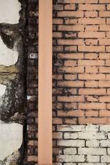 Effet Casimir (Gerard Hermand) Tags: 1704107442 gerardhermand france paris canon eos5dmarkii formatportrait gouttière gutter mur wall brique brick orange
