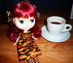 Roisin Gladys: Bottomless coffee? Yes, please! (Bebopgirl1969) Tags: coffee restaurant blythe giraffe inverness natashamoore