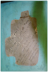Earnest Sunds (gebodogs) Tags: writingonthewall matthews granite school buford laramie county wyoming abandoned one room house country isolated rural jeanette