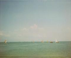 Petite Plage | Ile D'Oleron (Jrdis!) Tags: vacation france polaroid spectra iledoleron