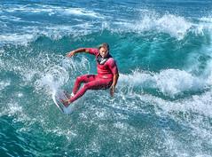 Cutback (thinduck42) Tags: ocean california motion beach sports water surf pacific action surfer wave surfing panasonic huntingtonbeach watersport fz200