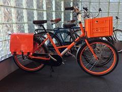 Oranje Koningsdag Fr8 (J.C. Lind Bike Co.) Tags: city family orange dutch bike bicycle cargo fr8 clarijs workcycles jclindbikeco jclindbike