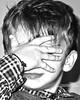 EsperimentoDigitale (denalby) Tags: camera old digital portraits canon digitale occhi e mano bianco ritratto nero luce viso biancoenero pensiero biondo luckyorgood sx220 sx220hs esperimentodigitale