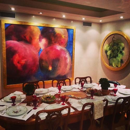 #roshhashanah #jewishnewyear #jewishholiday #dinnernyc #properdinner #ceremony #headoftheyear #yomteruah #shofar #tishrei #judaism #kosher